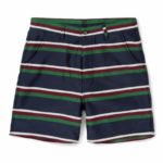 Short AMI x MR PORTER Striped Wool and Cotton-blend