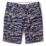 Short GANT RUGGER Slim-fit Wave-Print Cotton